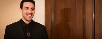 Smiling London concierge security staff