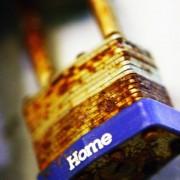 rusty home lock by kris krüg